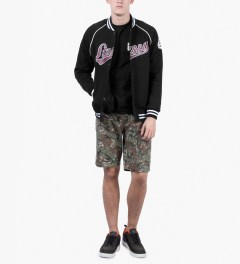 Stussy Olive Camo Ripstop Pocket Short Model Picutre