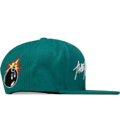 The Hundreds Turquoise Markers Snapback Model Picutre