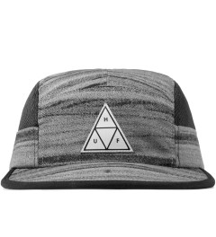 HUF Black Woodgrain Scout Volley Cap Picutre