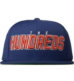 The Hundreds Blue Albany Snapback Cap Picutre