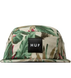 HUF Tan Waikiki Box Logo Volley Cap Picutre