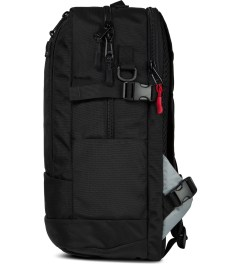DSPTCH Black Daypack Backpack Model Picutre