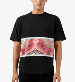 Black Scale Black Ban Religion T-Shirt Model Picutre