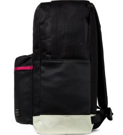 MAGIC STICK PORTER x MAGIC STICK Black YEEZY Backpack Model Picutre