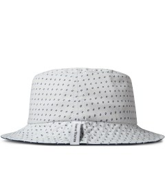 Raised by Wolves White Morocco Blues Gatineau Bucket Hat Model Picutre