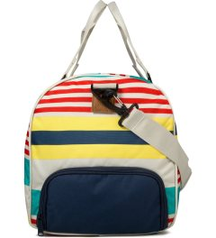 Herschel Supply Co. Malibu Stripe/Bone/Navy Novel Duffle Bag Model Picutre