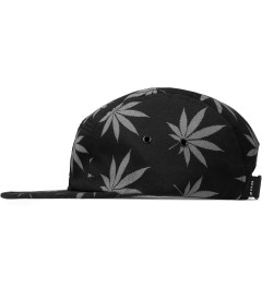 HUF Black Reflective Plantlife Volley Cap Model Picutre