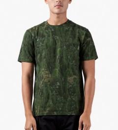 Carhartt WORK IN PROGRESS Cactus Print S/S Sierra Pocket T-Shirt Model Picutre