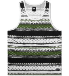 Stussy Black Dot Tom Tank Top Picutre