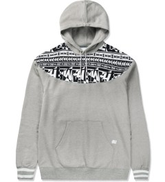 Hall of Fame Heather Grey Raider Hoodie Picutre