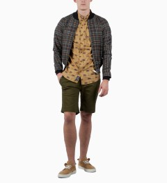 Grand Scheme Olive Slouch Short Model Picutre