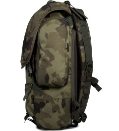 Brownbreath Newsboy Camo Resistance Backpack Model Picutre