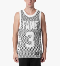 Hall of Fame Black Hoya Basketball Jersey Model Picutre
