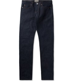 The Unbranded Brand UB121 Indigo Skinny 21oz Heavy Selvedge Jeans Picutre