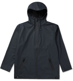 RAINS Blue Breaker Jacket Picutre
