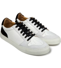 "ami Black Baskets ""AMI"" Low Sneakers Model Picutre"