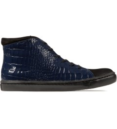 Opening Ceremony Navy Classic High Top Shoes Picutre