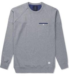 Ucon Heather Grey Damian Sweater Picutre