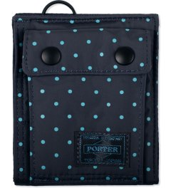 Head Porter Navy Dot Wallet (S) Picutre