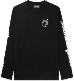 The Hundreds Black Hyper L/S T-Shirt Picutre