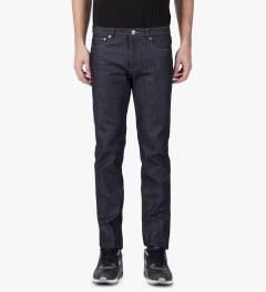 A.P.C. Indigo Petit New Standard Jeans Model Picutre