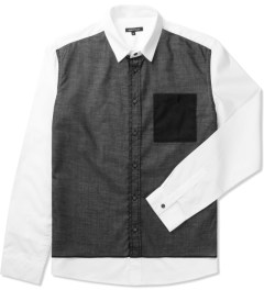 Surface to Air White Summer Grunge Shirt Picutre