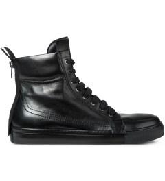 KRISVANASSCHE Black With Zip At The Back Sneakers Picutre