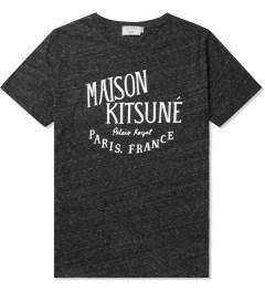 Maison Kitsune Dark Grey Palais Royal Print Crewneck T-Shirt Picutre