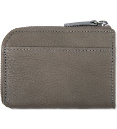 Head Porter Grey Calvi Coin Wallet Model Picutre