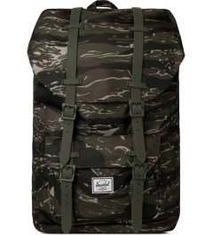 Herschel Supply Co. Tiger Camo/Army Rubber Little America Backpack Picutre