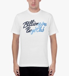 Billionaire Boys Club White S/S Slash T-Shirt Model Picutre
