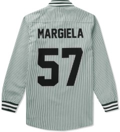 LES (ART)ISTS White Margiela 57 Oxford Baseball Shirt Picutre