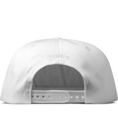 Stampd Black/White West Hat Model Picutre
