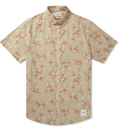 Grind London Beige Flamingo S/S Shirt Picutre