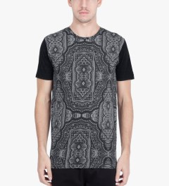 ZANEROBE Black Bandana Flintlock T-Shirt Model Picutre