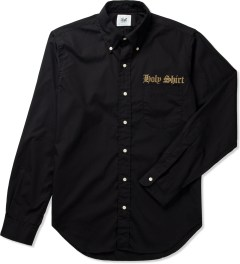 Mark McNairy Black L/S Holy Shirt Picutre