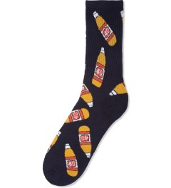 40s & Shorties Black 40s Socks Picutre