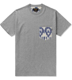 10.Deep Heather Grey Tribes Pocket T-Shirt Picutre