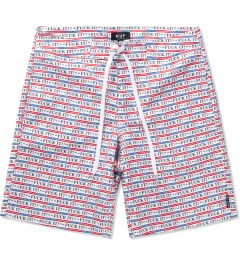 HUF White Fuck It Board Shorts Picutre