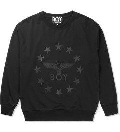 BOY London Black/Black Boy Globe Star Sweater Picutre