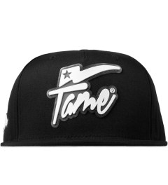Hall of Fame Black Champion Rubber Snapback Picutre