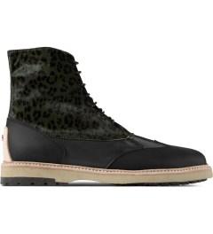 Thorocraft Black Harloe Shoes Picutre