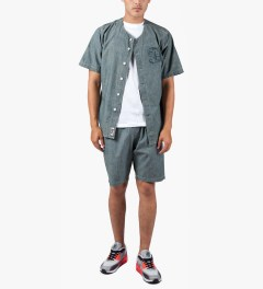 ALIFE Prison Blues Denim Shorts Model Picutre