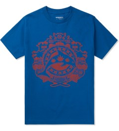 Odd Future Royal Blue Year of The Dolphin T-Shirt Picutre