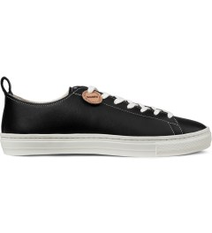 Buddy Black Bull Terrier Low Smooth Shoes Picutre
