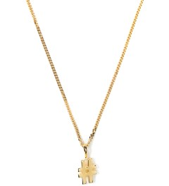 "Four Two Four 14K Gold 30"" Cuban Hashtag Necklace Picutre"