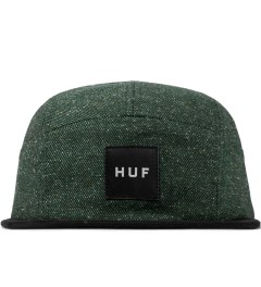 HUF Hunter Green Tweed Volley Cap Picutre