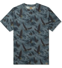 Carhartt WORK IN PROGRESS Navy S/S Eagle T-Shirt Picutre
