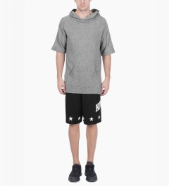 KNYEW Black Sandlot Mesh Shorts Model Picutre