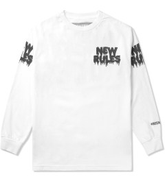 BEENTRILL White New Rules L/S T-Shirt Picutre